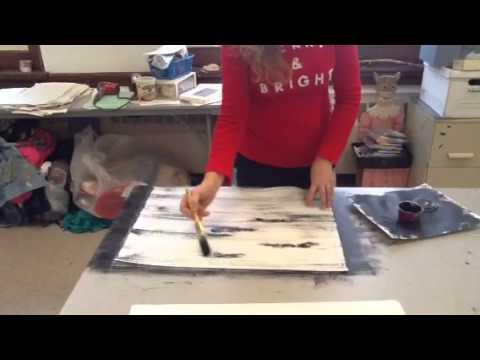Diy Birch Bark Wring Paper