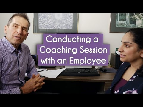 Coaching Session with an Employee Live Example