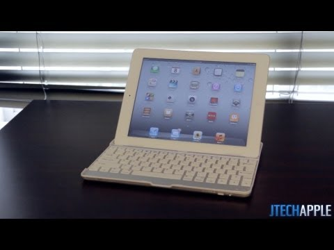 Snugg Ultra Slim iPad 2/3 Bluetooth Keyboard Case Review