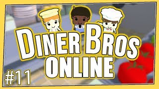 Diner Bros - #11 - CATERING A PRINCESS CONVENTION! (4 Player Gameplay)