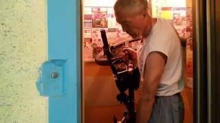 Велосипед в лифте легко