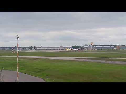 Airport Hamburg Flypgs Start  Flughafen Hamburg