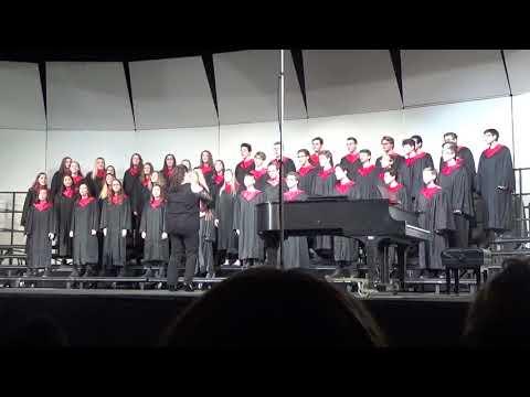 CHS Winter Concert 2019  Chorale  Disney Fly Medley