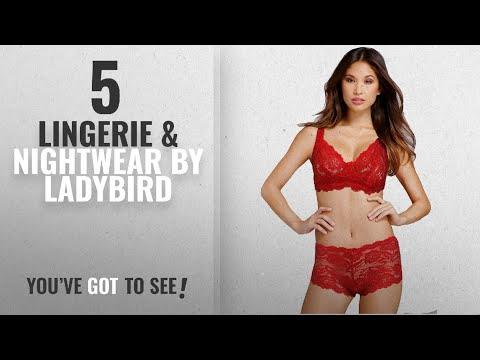 Top 10 Ladybird Lingerie & Nightwear [2018]: LADYBIRD FANCYBRIDAL BRA AND PANTY SET