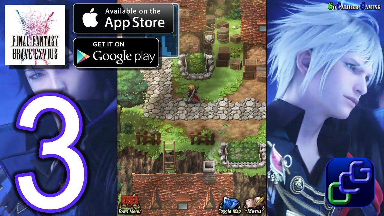 Walkthrough Part 3 Town Of Mitra Final Fantasy Brave Exvius