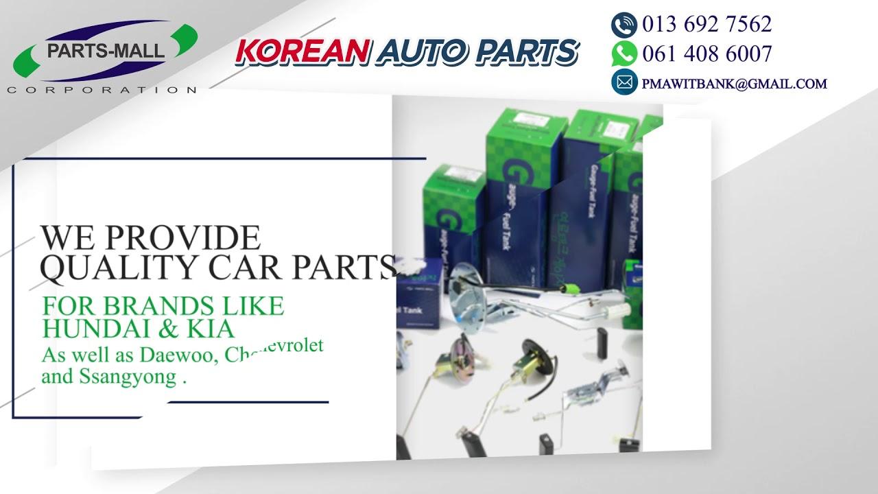 Korean Auto Parts - YouTube