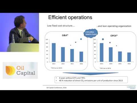 Guido Michelotti presents on behalf of Cadogan Petroleum at the Oil Capital Conference