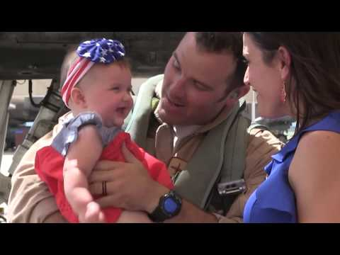 354th Fighter Squadron Returns Home