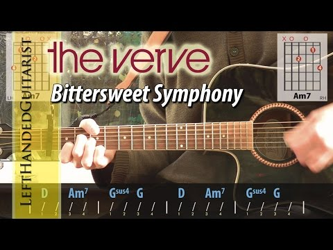 The Verve - Bittersweet Symphony | acoustic guitar lesson