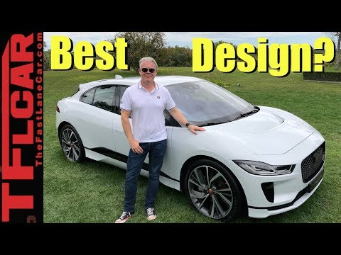 Did This Guy Design a Better Looking Car Than Elon Musk?  2019 Jaguar I-Pace