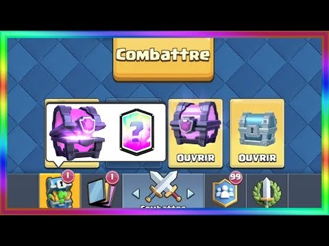 PACK OPENING CLASH ROYALE !!!!