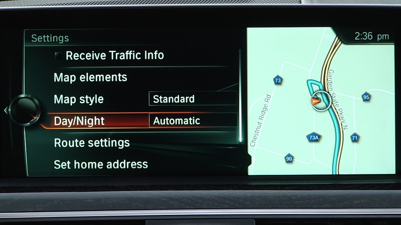 Customize Your iDrive Map Display | BMW Genius How-To