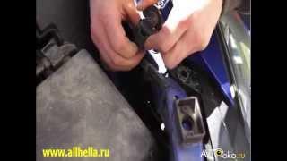 Инструкция по снятию фар с автомобиля MAZDA CX 7