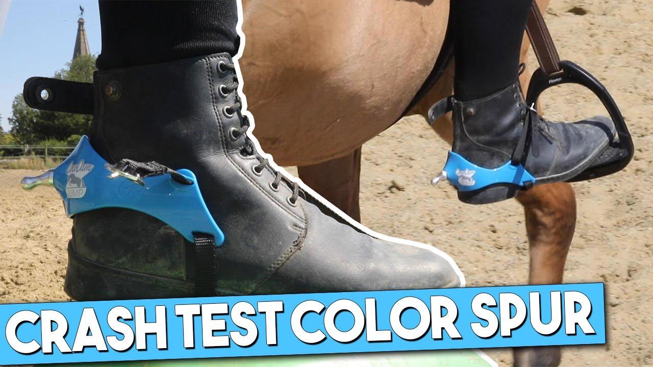 JE TEST DES ÉPERONS A COQUE AVEC EMBOUT INTERCHANGEABLE ! Color Spur
