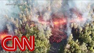 Hawaii volcano erupts, residents flee