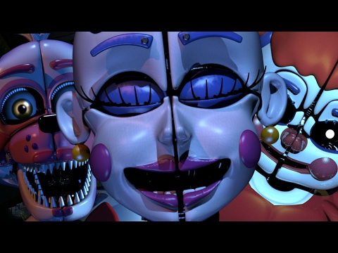 Five Nights At Freddy S Sister Location Jumpscares Animatronics Youtube