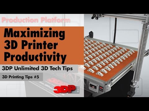 How to Maximize Your 3D Printing Productivity