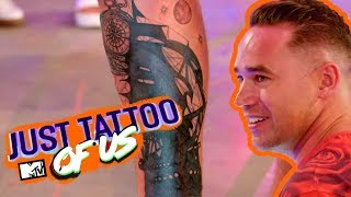 Katie Prices Ex Kieran Hayler Gets Emotional As His Tattoo Of Her Is Covered | Just Tattoo Of Us 4