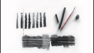 ZIMOU TAN | ART | How to use charcoal to draw.