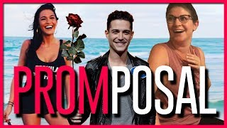 Tim Gettys Promposal To Gia (w/ The Bachelor's Alexis Waters & Wells Adams)