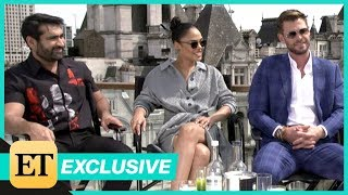 Men in Black: International: Chris Hemsworth, Tessa Thompson, Kumail Nanjiani (Full Interview)