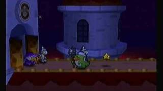 Paper Mario - Chapter 6 - Peach Interlude & Toad Town Dojo