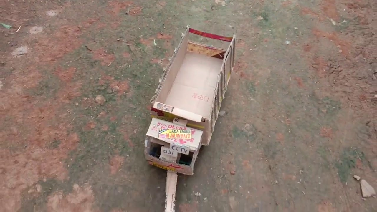 Mobil mobilan dari kardus paling lucu - YouTube