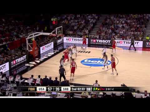 Final USA vs Serbia Mundial Baloncesto 2014 HD