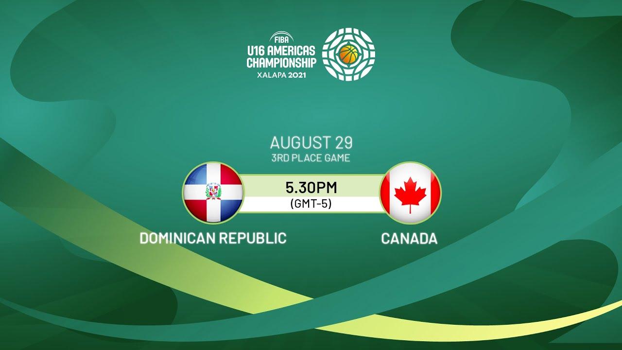 Download 3RD PLACE: Dominican Republic v Canada   Full Game - FIBA U16 Americas Championship 2021