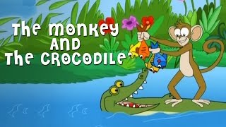 Video The Monkey And The Crocodile Story | Grandpa Stories | English Moral Stories For Kids download MP3, 3GP, MP4, WEBM, AVI, FLV November 2018