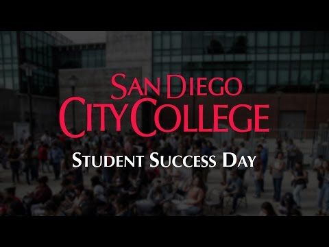 San Diego City College - Student Success Day 2016