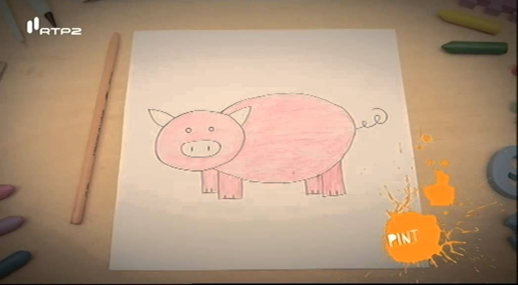 como desenhar um porco e fazer um marcador golfinho mãos à obra