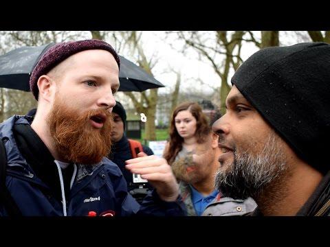 P1 - Jewish Afterlife!? Hashim Vs Jewish Speaker   Speakers Corner   Hyde Park