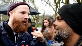 P1 - Jewish Afterlife!? Hashim Vs Jewish Speaker | Speakers Co…