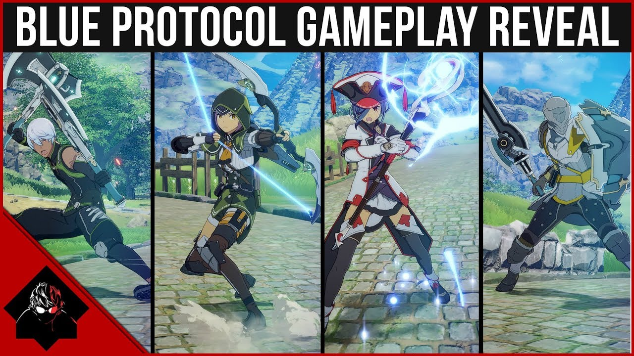 Blue Protocol - Gameplay Reveal, Classes & Character ...