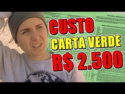 FERROU! SEGURO MERCOSUL TÁ CUSTANDO R$ 2.500 E AGORA?!