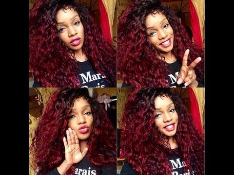 comment obtenir un beau rouge dans les cheveux - Coloration Rouge Sur Cheveux Noir