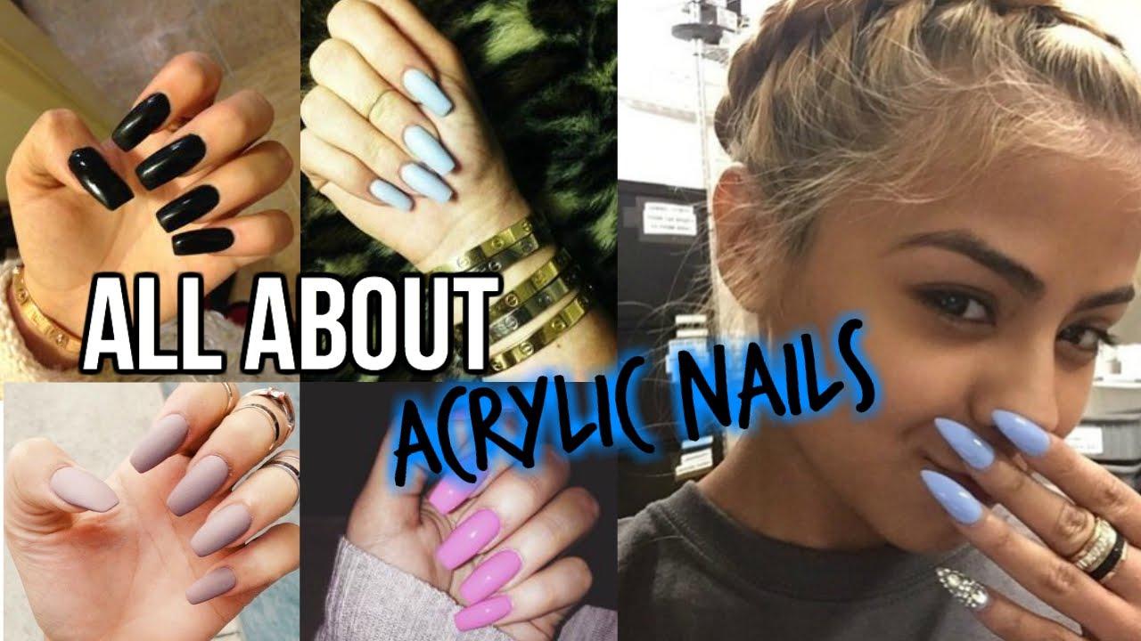Celebrity Acrylic Nail Designs