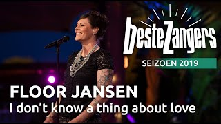 Beste Zangers gemist? Floor Jansen zingt 'About love I don't know a thing'