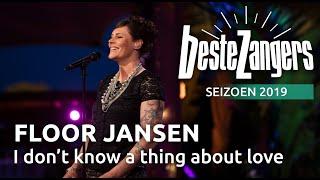 Beste Zangers gemist? Floor Jansen zingt 'About love I don't know a thing'
