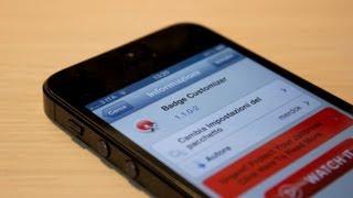iPhone - Come personalizzare i badge di iOS con BadgeCustomizer - Cydia