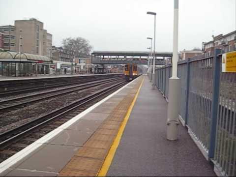 Trains at Kensington olympia