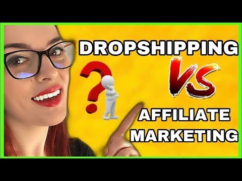 Affiliate Marketing Vs Dropshipping –  Which is Better for a Beginner ? thumbnail