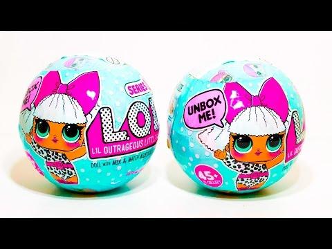 LOL Surprise Dolls Куклы ЛОЛ Шары Сюрпризы с Куклами L.O.L. Surprise Baby Dolls