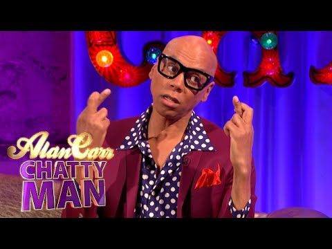 RuPaul Dreams For UK Drag Race Show - Alan Carr: Chatty Man