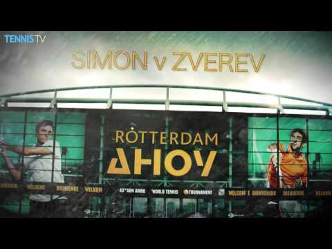 2016 ABN AMRO World Tennis Tournament - Thursday Highlights