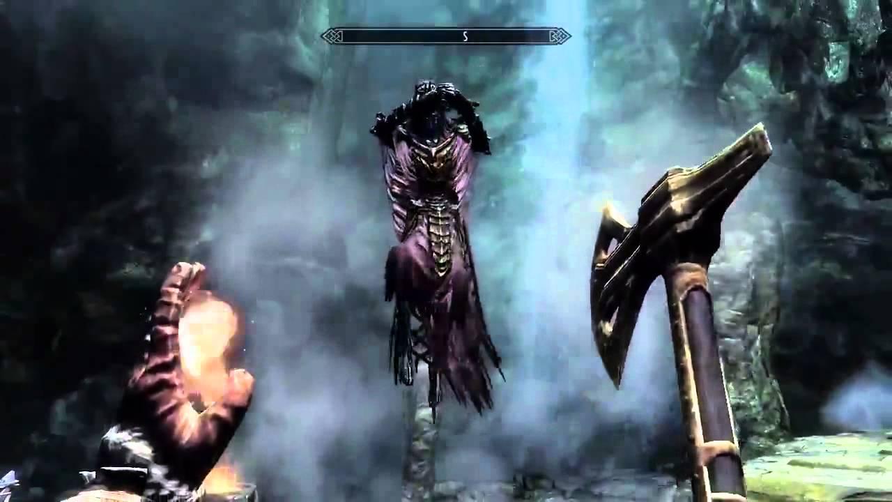 Babando com o gameplay The Elder Scrolls V: Skyrim