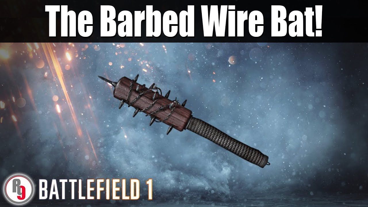 Unlocking the Barbed Wire Bat! - Battlefield 1 live stream ...