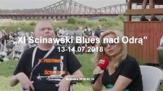 XI Festiwal  Ścinawski Blues nad Odrą blues'man Dariusz   Daro   Łach