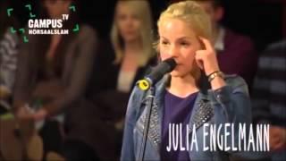 5. Bielefelder Hörsaal-Slam - Julia Engelmann - Campus TV 2013 [set to music]